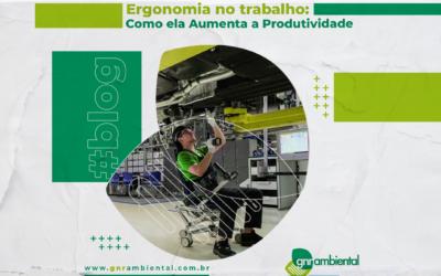 Ergonomia no Trabalho: Como ela Aumenta a Produtividade?